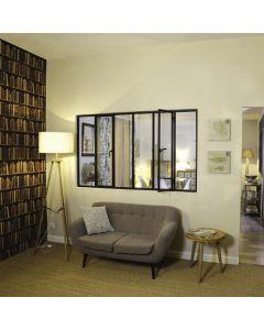 Les verrières sur mesure peuvent séparer la chambre du salon, ouvrir légèrement la cuisine sur la pièce à vivre. Installé par monsieur store Aix en Provence